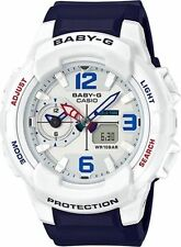 NEW Casio Baby-G Blue/White Pink Resin Band BGA230SC-7B Priority Ship
