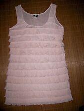 Ärmellose H&M Mini-Damenkleider mit Rundhals-Ausschnitt