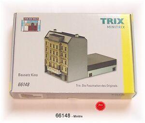TRIX 66148 Minitrix Spur N Bausatz Kino  #NEU in OVP#