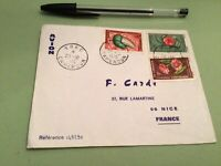 Federal Republic of Cameroon   to France Airmail stamps Cover Ref 51479