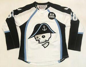 Reebok AHL Milwaukee Admirals #88 Hockey Jersey White Adult S Canada Sewn