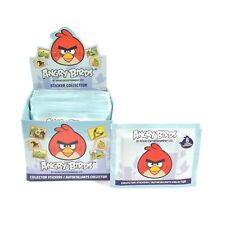 Angry Birds Collector Sticker 50 Pack Box (8 Stickers Per Pack) Official Rovio