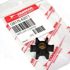 Genuine YANMAR Water Pump Impeller - 1GM - 1GM10 - 128176-42071