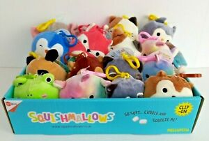 """Squishmallow Bag Clip On 3.5"""" Keyring Choose Your Own ! BNWT ! FREE POST !"""
