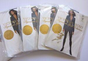 1 NEW Victoria's Secret VINTAGE 90s Signature Gold Touch Velvet Pantyhose SMALL