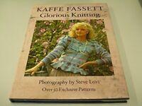 Glorious Knitting by Fassett, Kaffe Hardback Book The Fast Free Shipping