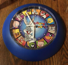 Vintage 1997 Warner Bros. Looney Tunes Wall Clock Made In The USA