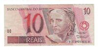 10 Reais Brasilien 1996 BA C287 / P.245h - Brazil Banknote