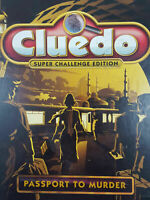 Cluedo Passport To Murder Challenge Edition Board Game Spare Parts Pieces Cards