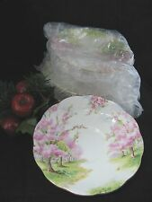 "Royal Albert BLOSSOM TIME SAUCER only  5 5/8"" d       Buy by LOT and save"