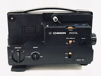 VINTAGE CHINON 2500 GL 8MM / SUPER 8 CINE PROJECTOR - FOR PARTS OR REPAIR