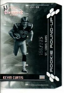 2003 PLAYOFF CONTENDERS KEVIN CURTIS ROOKIE ROUND-UP #rd 375