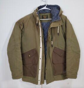 Burton x JackThreads Champlain Jacket Green Mens Size Medium