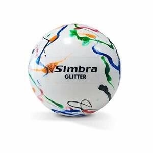 Simbra Field Hockey Ball Glitter Shiny PVC 157 Gram Ball for Training & Practice