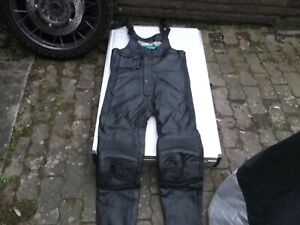 Lederlatzhose mit Träger, Top-Leder, Fabrikat Lookwell, Rarität!, Größe 50 (M)