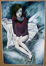 "Joanne nam ""lucid"" ltd ed hf s/n imprimé + banksy, amy sol ou audrey kawasaki pin"