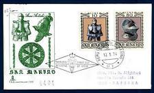 SAN MARINO - 1974 - Armature ed armi antiche su FDC Capitolium