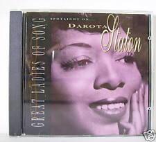 DAKOTA STATON GREAT LADIES OF SONGS CD