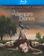 The Vampire Diaries: The Complete First Season (Blu-ray 4 Disc SET) MINT CONDISH