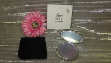 FLORA BY GUCCI -THE GARDEN- flat compac travel mirror with logo on it & dust bag