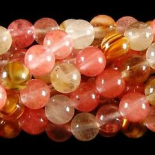 "10mm Watermelon Tourmaline Gems Round loose Bead 15""AAA"