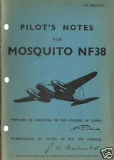 PILOT'S NOTES: MOSQUITO NF.38 RADAR FIGHTER 48pps +FREE 2-10 PAGE INFO PACK