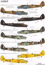 XTRADECAL 1/72 Bristol Blenheim & BOLINGBROKE mk. IV / mk.ivf RAF & OVERSEAS