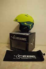 Cebe Atmosphere DLX In Mold Snow Helmet Size - Adult 55-58cm Colour-Jollygreen