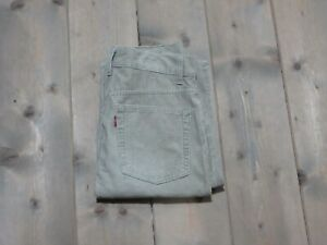 JEANS LEVIS STRAUSS 337  GONNA XS   DENIM BEIGE VINTAGE GRADE A+