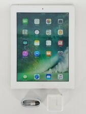 "2012 Apple iPad 4th Gen. 9.7"" Wi-Fi Tablet - White A1458 MD514LL/A - 32GB +"