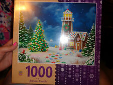 NEW 1000 pc. MasterPieces Jigsaw Puzzle Gingerbread Christmas Holiday