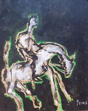 Pierre PERESS (1919-1990) HsP Cavalier Années 60 / Fauvist / Fauvism / Fauviste