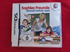 Nintendo DS Spiel: Sophies Freunde: Einmal Lehrer sein mit OVP und Anleitung