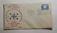 TWO Canada First Day of Issue - 1959 - NATO 10th Anniversary