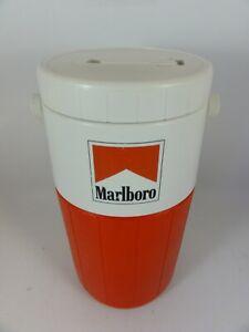 Coleman 5590 Thermos Cooler1/2 Gallon Water Jug  Marlboro Red Top Cigarette Logo