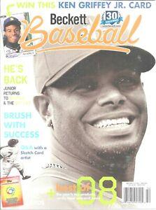 Beckett Baseball Card Monthly April 2009 30 Year Issue Ken Griffey Jr