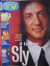 TV Sorrisi e Canzoni n°29 2001 Sylvester Stallone Beach Boys  [D9]