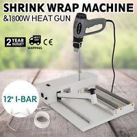 """12"""" Shrink Wrap Machine Heat Sealer System - Heat Gun"""