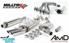 Milltek MkII Golf GTi 8V FULL Stainless Steel Exhaust System INCLUDES MANIFOLD