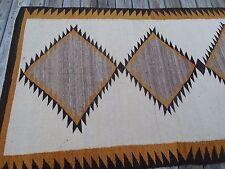 VINTAGE NATIVE AMERICAN INDIAN NAVAJO RUG 47 X 85