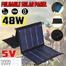 48W 5V Solare Pieghevole Pannello USB Carica Telefono Esterno Sunpower Traval
