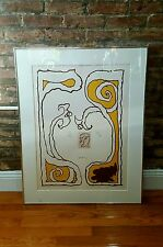 Pierre Alechinsky Signed 1975 Original Lithograph - MoMA - Modern Art - Abstract