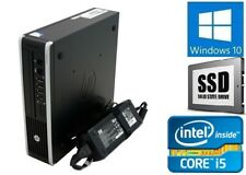 Cheap Fast HP Elite 8300 Quad Core i5 128GB SSD WiFi 8Gb Windows 10 pc computer