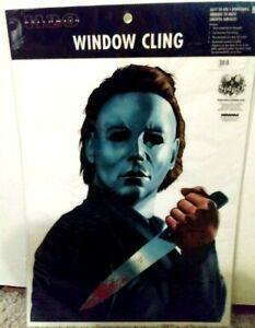 Michael Myers *SPIRIT HALLOWEEN Window Cling! John Carpenter HORROR Decor! *RARE