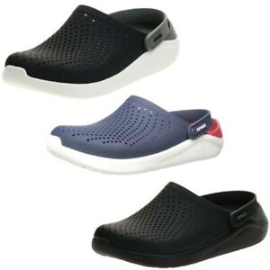 Crocs Adults Unisex LiteRide Clogs Relaxed Fit Cushioned Soft Slip On Sandals