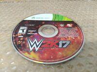 WWE 2K17 (Microsoft Xbox 360, 2016) *disc only*