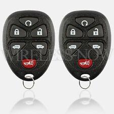 2 Car Key Fob Keyless Remote 6Btn For 2005 2006 2007 2008 2009 Pontiac Montana