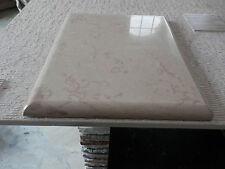 Tagliere in marmo rosa egiziano,vassoio 50 x 33 cm ,spianatoia per pasticceria