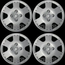 "14"" Set of 4 Hubcaps Wheel Covers Snap On Full Hub Caps fit R14 Tire & Steel Rim"
