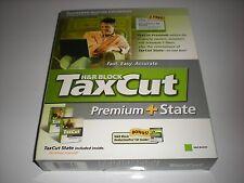 H&R Block TaxCut 2005 Premium and State. Tax Cut imports Turbotax. New in box